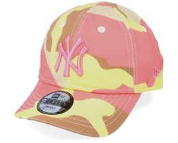 Kids New York Yankees Infant Camo Pack 9FORTY Camo Stone Adjustable - New Era