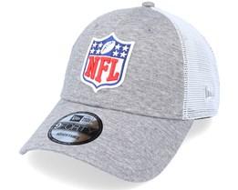 Home Field 9FORTY NFL Heather Grey/White Trucker - New Era