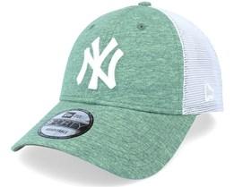 New York Yankees Home Field 9FORTY Green/White Trucker - New Era