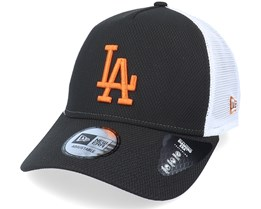 Los Angeles Dodgers Diamond Era Black/Toffee Trucker - New Era