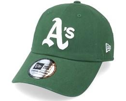 Oakland Athletics Coops Cscl 9TWENTY Green/White Dad Cap - New Era