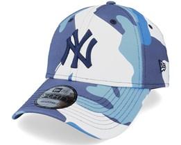 New York Yankees Camo Pack 9Forty Navy Camo Adjustable - New Era