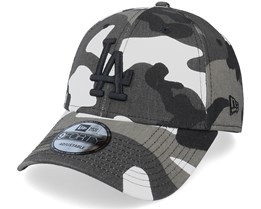 Los Angeles Lakers Camo Pack 9Forty Black Camo Adjustable - New Era