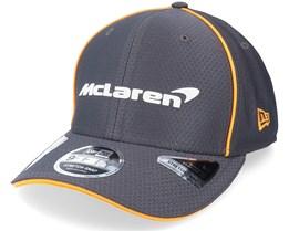 McLaren Team Hex Era 9Fifty Stretch-Snap Grey Adjustable - New Era