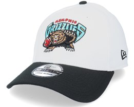 Memphis Grizzlies 39Thirty 2021 White/Black Flexfit - New Era