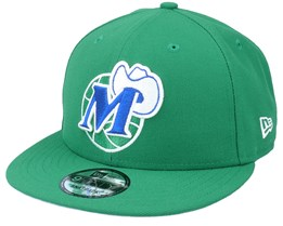 Dallas Mavericks 9Fifty Bot Green Snapback - New Era