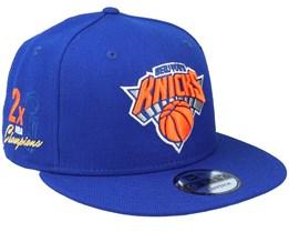 New York Knicks 9Fifty NBA Paisley Undervisor Royal Snapback - New Era