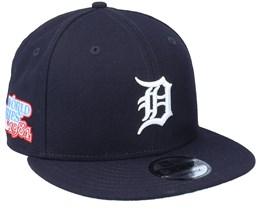 Detroit Tigers 9Fifty MLB Paisley Undervisor Navy Snapback - New Era