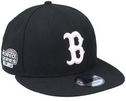 Boston Red Sox 9Fifty MLB Pink Paisley Undervisor Black Snapback - New Era