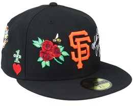 San Francisco Giants 59FIFTY MLB Icon Black Fitted - New Era