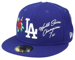 Los Angeles Dodgers MLB Icon 59FIFTY Royal Fitted - New Era