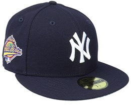 New York Yankees 59FIFTY MLB Paisley Undervisor Navy Fitted - New Era