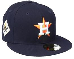 Houston Astros 59FIFTY MLB Paisley Undervisor Navy Fitted - New Era