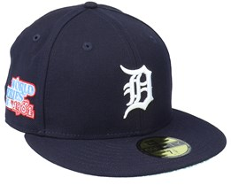 Detroit Tigers 59FIFTY MLB Paisley Undervisor Navy Fitted - New Era