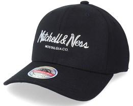 Pinscript Cyber Red Black Adjustable - Mitchell & Ness