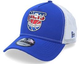 Brooklyn Nets 9Forty A-Frame 2021 Maj Blue/White Trucker - New Era