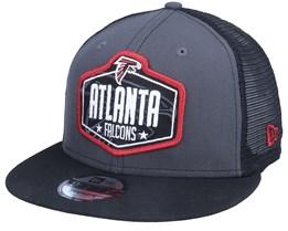 Atlanta Falcons 9Fifty NFL21 Draft Dark Grey/Black Trucker - New Era