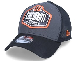 Cincinnati Bengals 39Thirty NFL21 Draft Dark Grey/Black Trucker - New Era