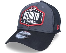 Atlanta Falcons 39Thirty NFL21 Draft Dark Grey/Black Flexfit - New Era