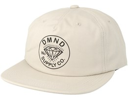 Trader Cream Snapback - Diamond