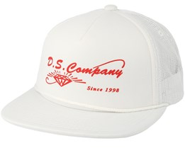 Supplier Trucker White Snapback - Diamond