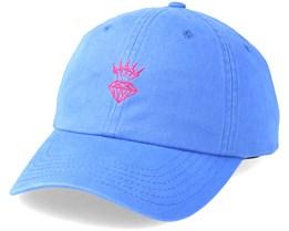 Lightning Sports hat Blue Adjustable - Diamond
