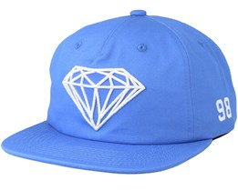 Brilliant Blue Snapback - Diamond