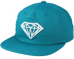 Brilliant Unstructured Blue Snapback - Diamond
