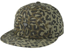 Cheetah Micro Brill Unstructured Olive Strapback - Diamond