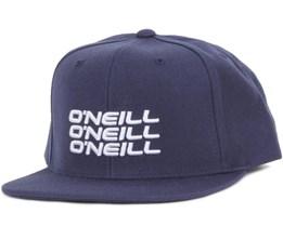 Stacked Navy Snapback - O'Neill