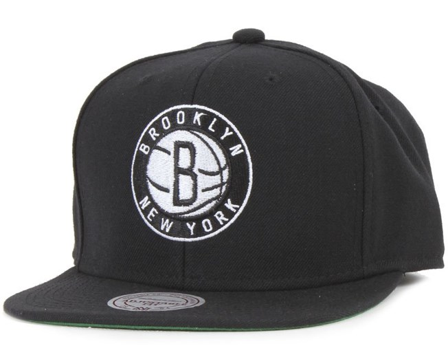 Brooklyn Nets Wool Solid - Mitchell & Ness