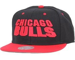 Chicago Bulls Monolith 2 Tone Snapback - Mitchell & Ness