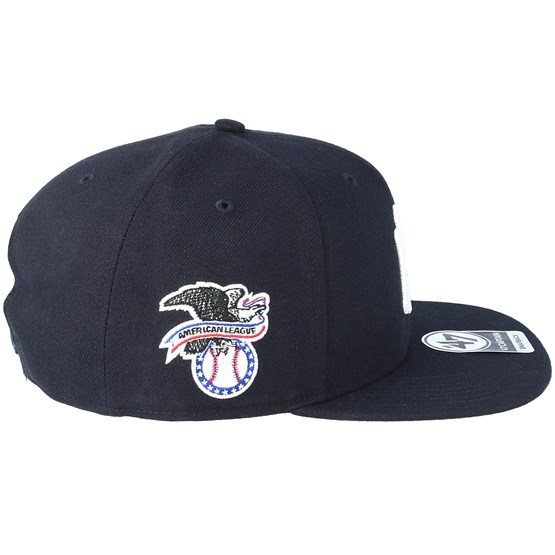 345c59a0c9549 NY Yankees Sure Shot Navy White Snapback - 47 Brand caps -  Hatstoreaustralia.com