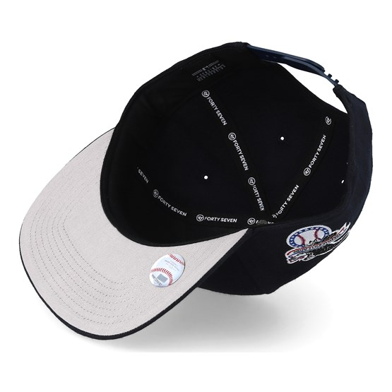 80b97488dd212 NY Yankees Sure Shot Navy White Snapback - 47 Brand caps -  Hatstoreaustralia.com