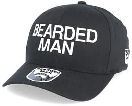 Official Black Flexfit - Bearded Man