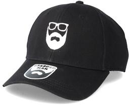 Logo Black Adjustable - Bearded Man