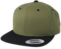 quality new images of store Olive Black Snapback - Yupoong