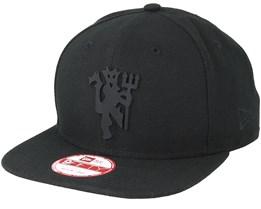 98c6e590b74 Manchester United Bob Devil Black Black 9Fifty Snapback - New Era
