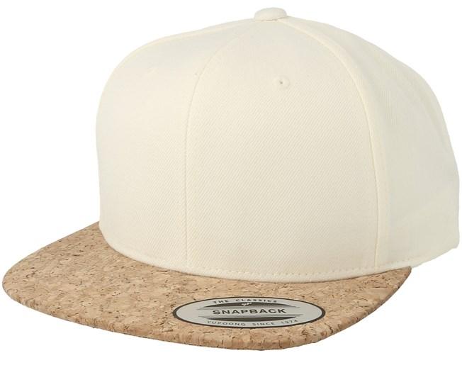 718af9032 Natural Cork Snapback - Yupoong caps - Hatstorecanada.com