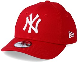 77b51a0fd0cb7 Kids NY Yankees Basic Scarlet 940 Adjustable - New Era