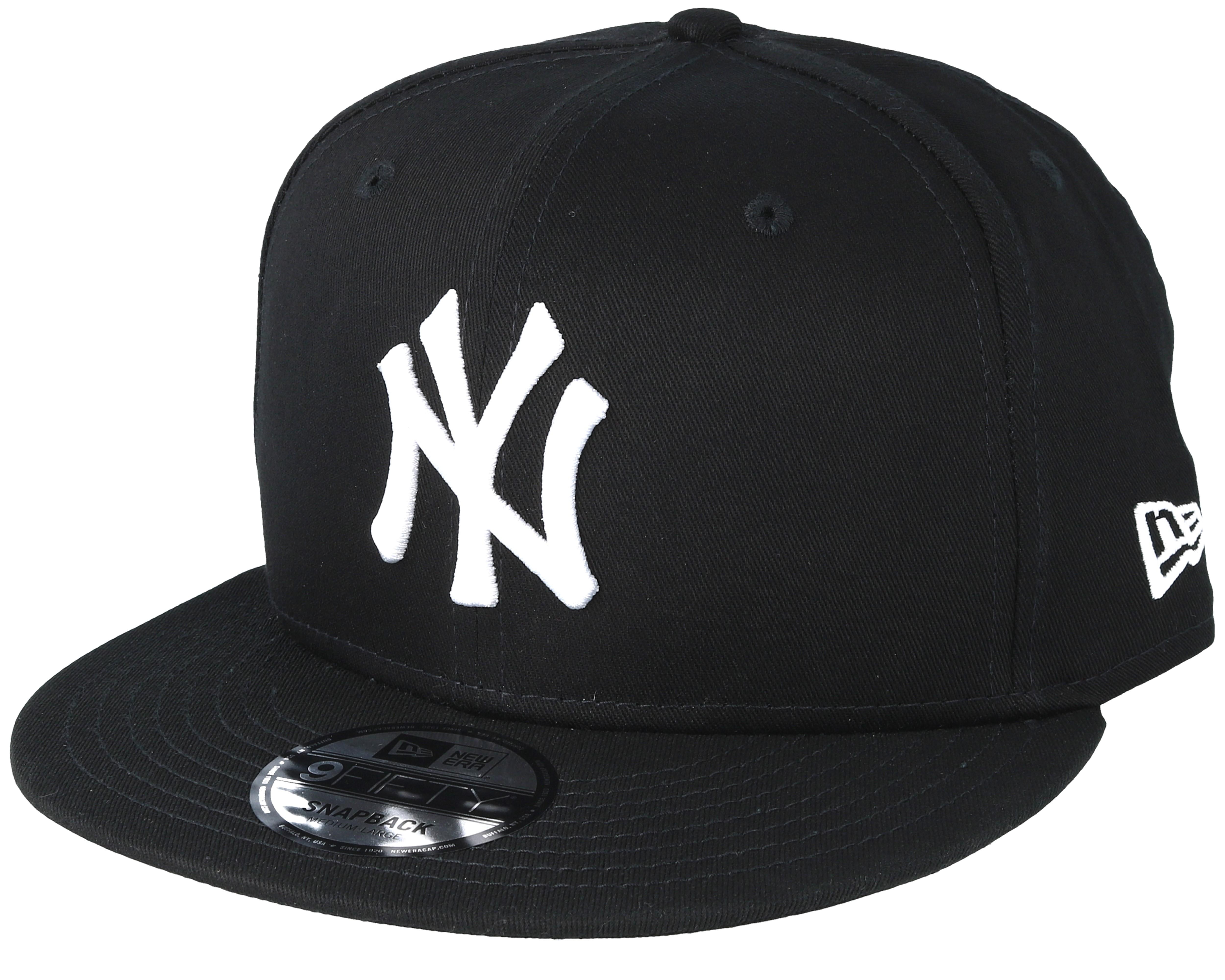 Ny Yankees Black White 9fifty Snapback New Era Caps