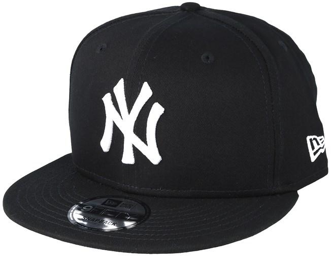 b30cc89b3e0 NY Yankees Black White 9Fifty Snapback - New Era caps