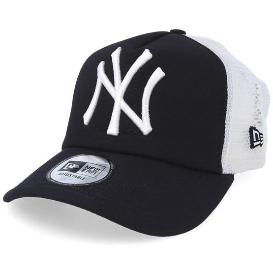 657b8a5031df7 NY Yankees Clean Navy Trucker - New Era caps - Hatstoreaustralia.com
