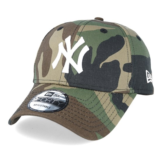Keps NY Yankees Basic Camo/White 940 Adjustable - New Era - Camo Reglerbar