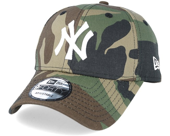 0aa5e843 NY Yankees Basic Camo/White 940 Adjustable - New Era caps   Hatstore ...