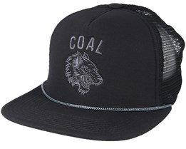 The Pack Black Snapback - Coal