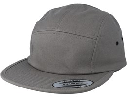 Classic Jockey Grey 5-Panel - Yupoong