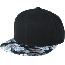 7505b2ad15465 The Munchies Black Pink Donut Snapback - Cayler   Sons caps ...