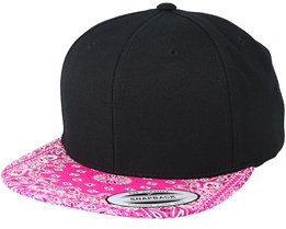 Paisley Pink Snapback - Yupoong