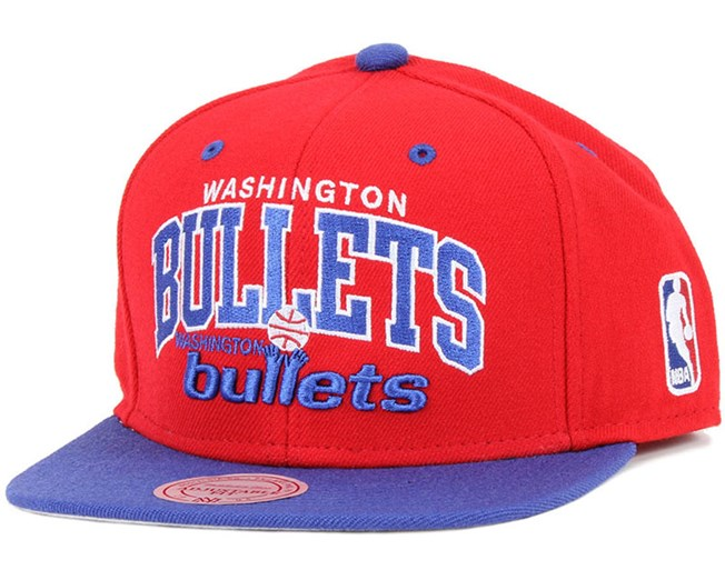 1a3513c3fd8 Washington Bullets Team Arch Snapback - Mitchell   Ness caps ...